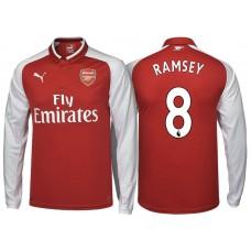 size 40 7c671 808c5 Aaron Ramsey Arsenal 2017/18 Home-Away-Third Jersey Online Sale