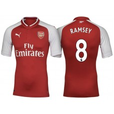 size 40 e899e d02e5 Aaron Ramsey Arsenal 2017/18 Home-Away-Third Jersey Online Sale