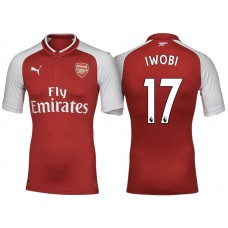 buy popular f9fa7 9fc05 Alex Iwobi Arsenal 2017/18 Home-Away-Third Jersey Online Sale