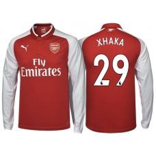 c4196e2df Granit Xhaka Arsenal 2017 18 Home-Away-Third Jersey Online Sale