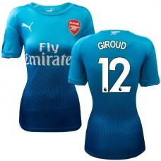 online store 18d5f 8dca2 Olivier Giroud Arsenal 2017/18 Home-Away-Third Jersey Online ...