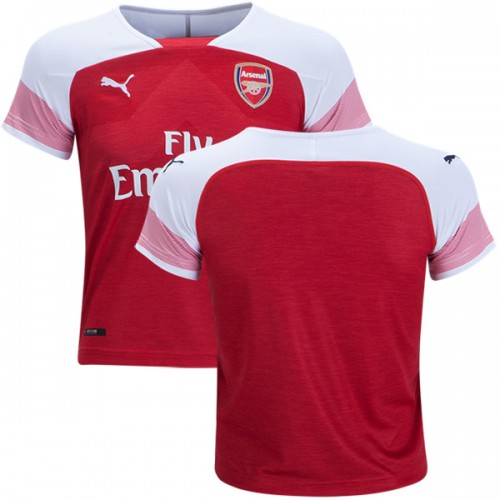 brand new 18342 bd8bb 2018-19 Kid's Blank Arsenal Home Jersey Red White Replica