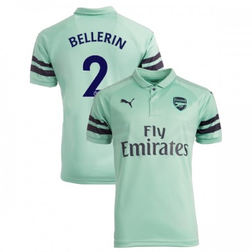 huge selection of 1359a 1af72 2 Hector Bellerin Arsenal 2018-19 3rd Light Green/Blue ...