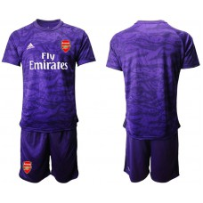 Arsenal 2019/20 Purple Goalkeeper Soccer Jersey