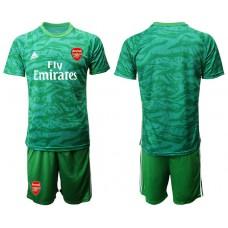 Arsenal 2019/20 Green Goalkeeper Soccer Jersey