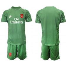 Arsenal 2019/20 Army Green Goalkeeper Soccer Jersey