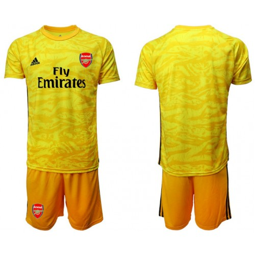 Arsenal 2019/20 Yellow Goalkeeper Soccer Jersey