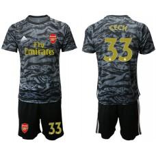 Arsenal 2019/20 #33 CECH Black Goalkeeper Soccer Jersey