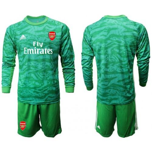 Arsenal 2019/20 Green Goalkeeper Long Sleeve Soccer Jersey