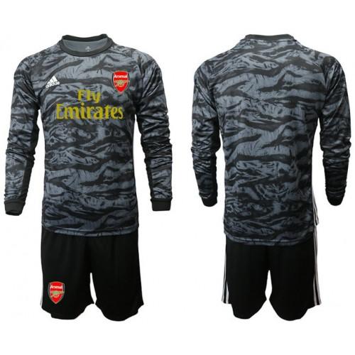 Arsenal 2019/20 Black Long Sleeve Goalkeeper Soccer Jersey