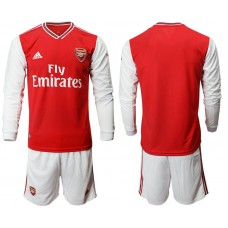 Arsenal 2019/20 Home Long Sleeve Red Soccer Jersey