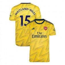 2019/20 Arsenal #15 Ainsley Maitland-Niles Yellow Away Replica Jersey