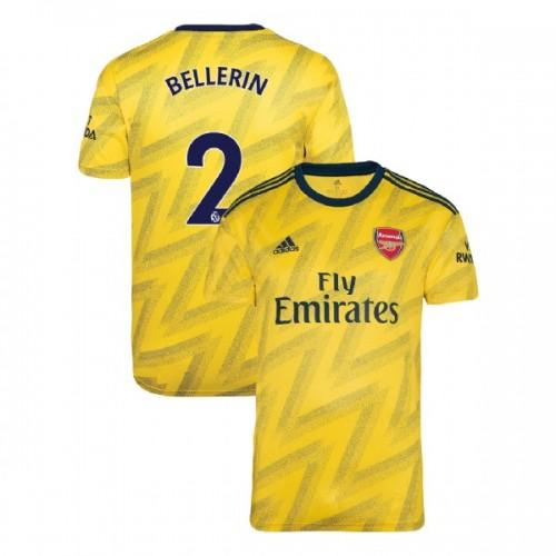 2019/20 Arsenal #2 Hector Bellerin Yellow Away Replica Jersey