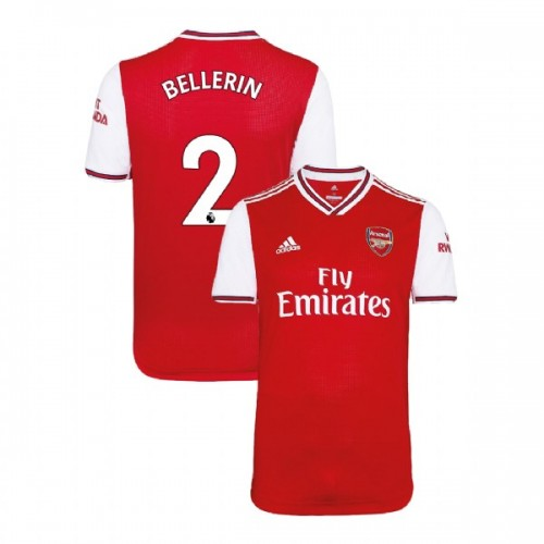 2019/20 Arsenal #2 Hector Bellerin Red Home Authentic Jersey