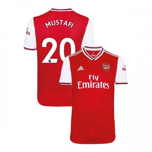 2019/20 Arsenal #20 Shkodran Mustafi Red Home Replica Jersey