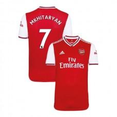 2019/20 Arsenal #7 Henrikh Mkhitaryan Red Home Authentic Jersey