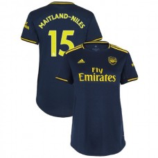 WOMEN'S Arsenal 2019/20 Third #15 Ainsley Maitland-Niles Navy Authentic Jersey