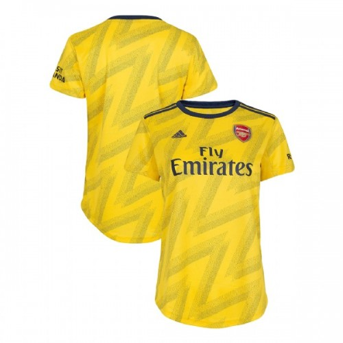 WOMEN'S 2019/20 Arsenal Away Yellow Replica Jersey