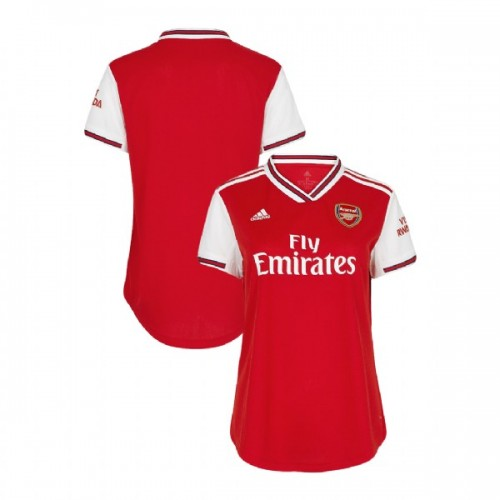 WOMEN'S 2019/20 Arsenal Home Red Replica Jersey
