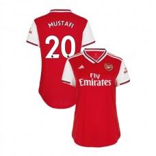 WOMEN'S Arsenal 2019/20 Home #20 Shkodran Mustafi Red Authentic Jersey
