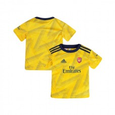 YOUTH 2019/20 Arsenal Away Yellow Authentic Jersey