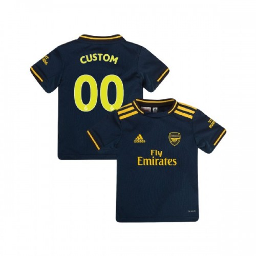 YOUTH Arsenal 2019/20 Third #00 Custom Navy Authentic Jersey