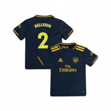YOUTH Arsenal 2019/20 Third #2 Hector Bellerin Navy Authentic Jersey