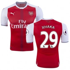 5bbcd232e Kid s 16 17 Arsenal  29 Granit Xhaka Red Home Replica Jersey